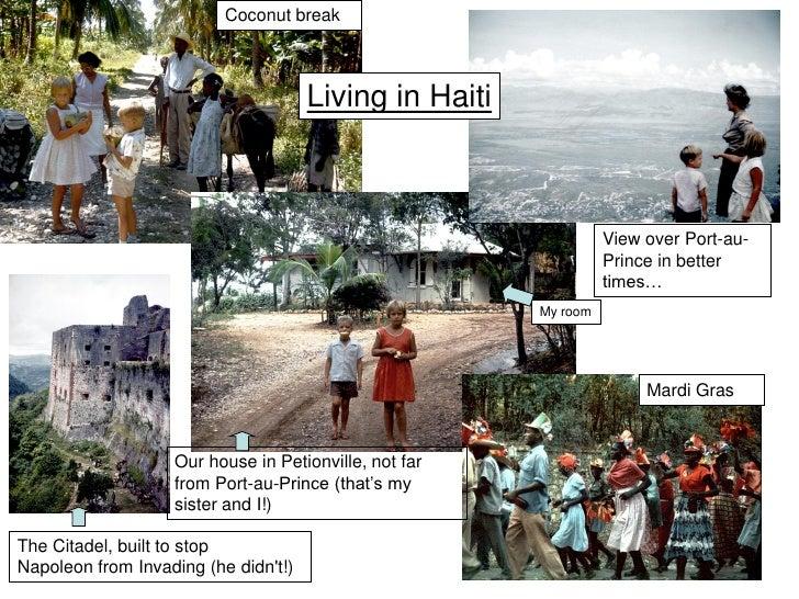 Coconut break                                          Living in Haiti                                                    ...