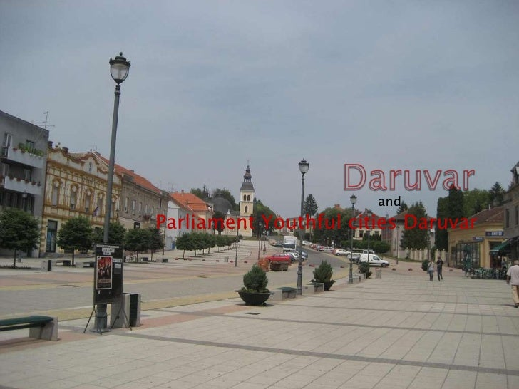 Parliament Youthful cities Daruvar and
