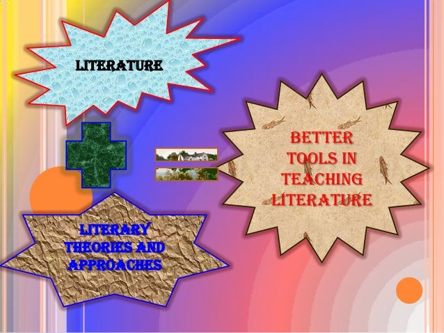 literary theories and approaches simplified version