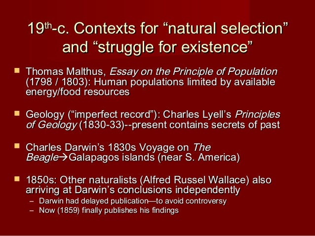 Science Vs Religion Darwin And The Victorians  Findings