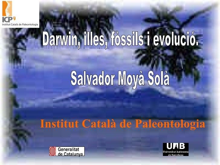Darwin, illes, fòssils i evolució