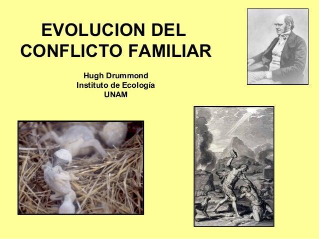 EVOLUCION DEL CONFLICTO FAMILIAR Hugh Drummond Instituto de Ecología UNAM