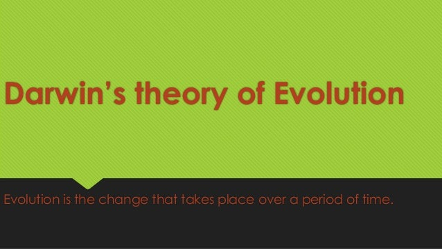 Darwin S Theory Of Natural Selection And Evolution