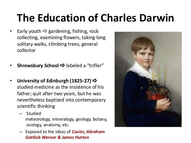 charles darwin education