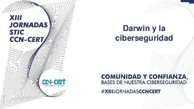 Darwin y la ciberseguridad