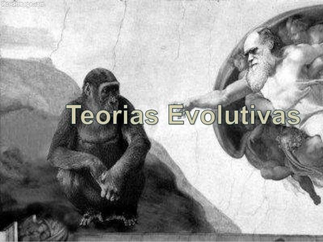 Criacionismo, Lamarckismo, Darwinismo e Teoria Sintética da Evolução