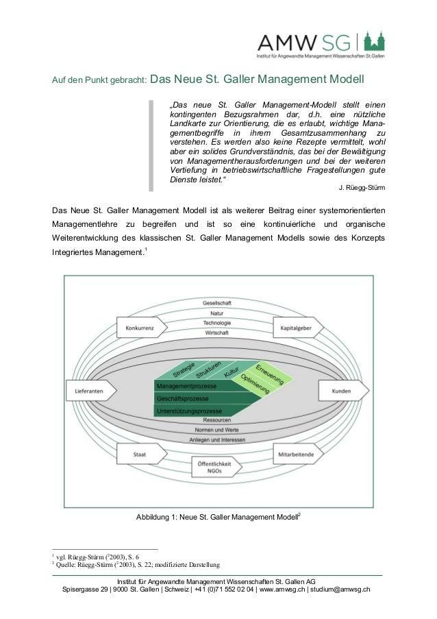 Institut für Angewandte Management Wissenschaften St. Gallen AG Spisergasse 29 | 9000 St. Gallen | Schweiz | +41 (0)71 552...