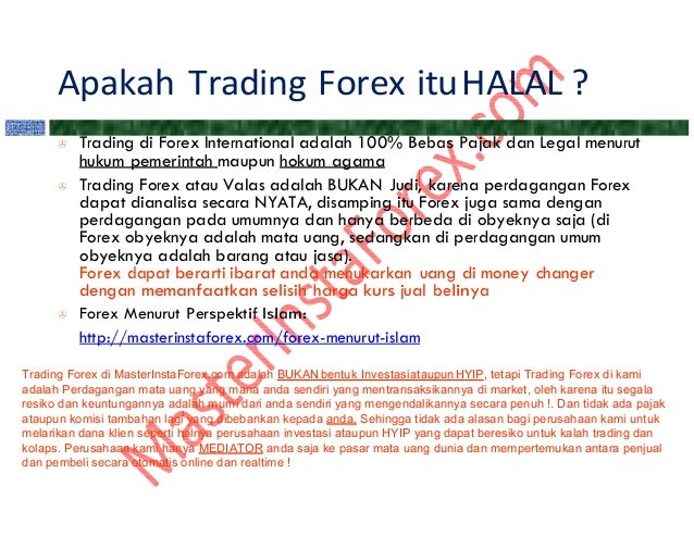 Apakah trading forex itu penipuan