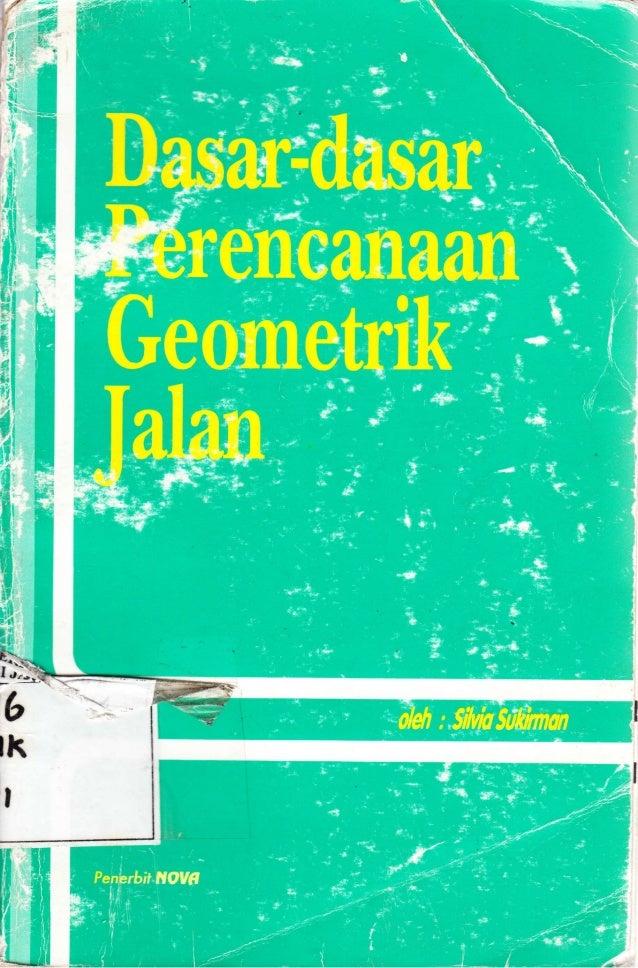 Dasar Dasar Perencanaan Geometrik Jalan