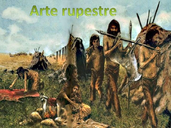 Arte rupestre<br />
