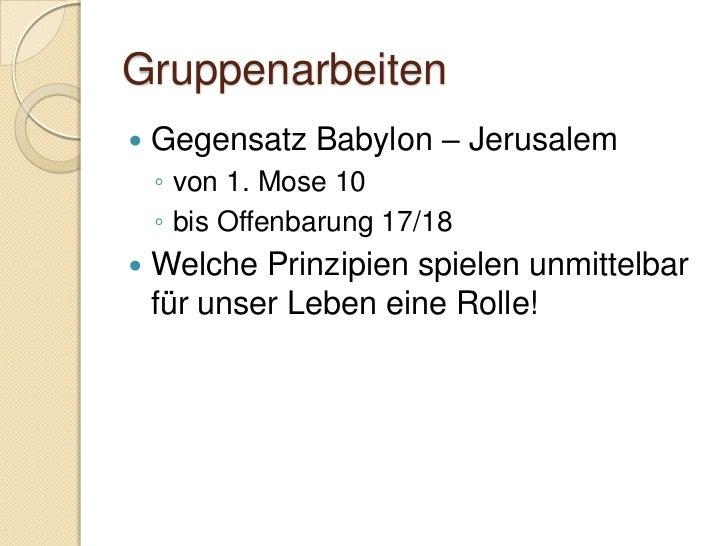 Daniel 2:1-13   Parallele zu 1. Mose 42    ◦ Pharao und Josef   Nebukadnezar ist voller Unruhe und    Misstrauen    ◦ Er...