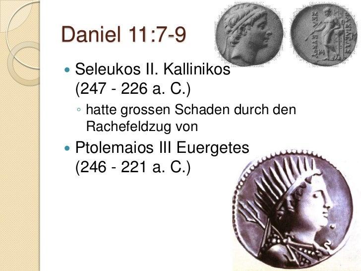 Daniel                        11.31-35Der Aufstand der MakkabäerPriester Mattathias undseine Söhne1./2. Makkabäer-Buch
