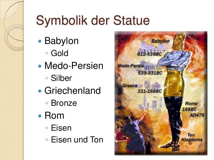 Symbolik des Steins Stein  wächst zum Berg Beendet die anderen Reiche Vergleich zu Matt. 21:42-44   Königreich Gottes...