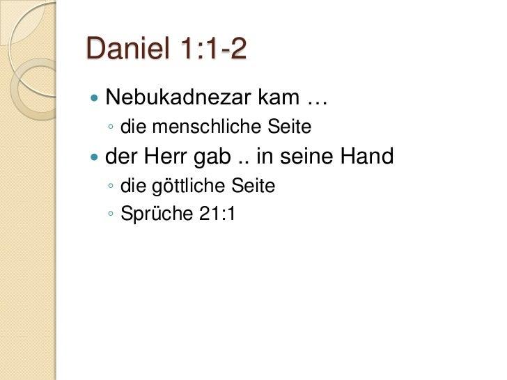 Das Buch Daniel Slide 2