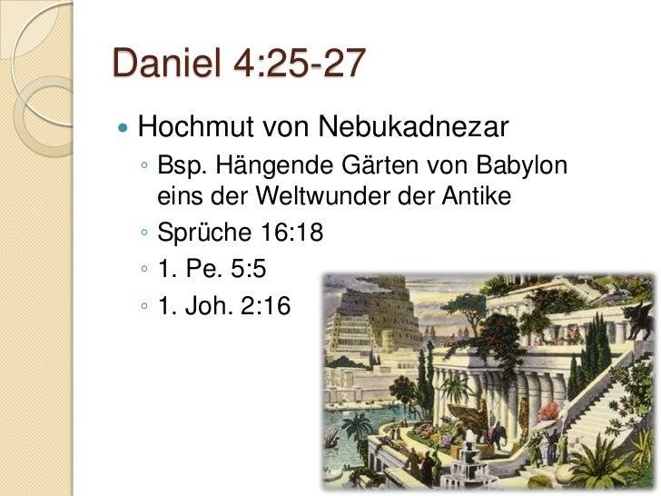 Gruppenarbeiten   Symbolik des Baums herausarbeiten    ◦   1. Mose 2:9    ◦   Richter 9:7-21    ◦   1. Könige 14:22-23   ...