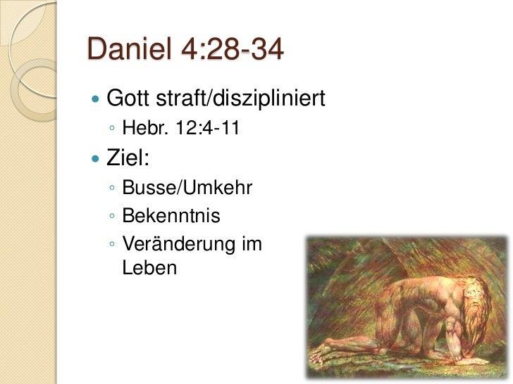 Daniel 5BelsazarDer schreibende Finger an der WandBewahrt bis ans EndeEr selbst aber, der Gott des Friedens, heilige euch ...