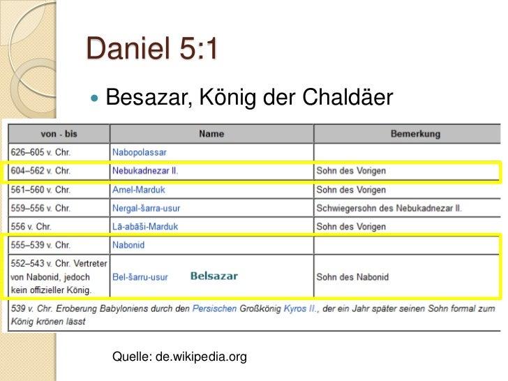 Daniel 5:5 Gottes Gerichtsankündigung Wände enthielten normalerweise:    ◦ Familien-      geschichten    ◦ Erfolge      ...