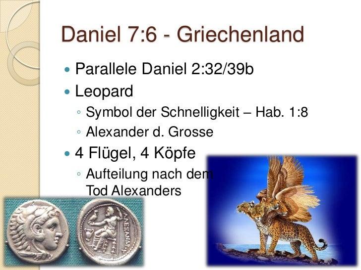 Daniel 7:8/19-25 Parallele Daniel 2:33b/41-43 Reich existent beim 2. Kommen von  Jesus Christus das gleiche Reich, jedo...
