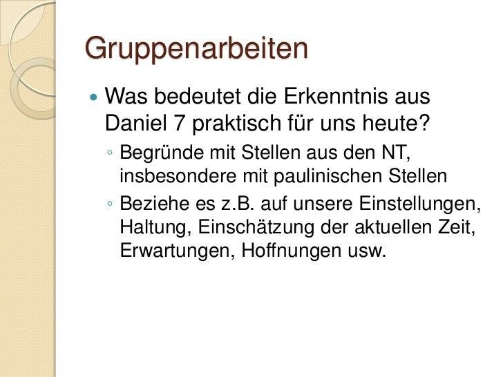 Daniel 8:5-8/21-22   Exakte Vorhersage:    ◦ Alexander der Grosse    ◦ 356 – 323 v.Chr.    ◦ 4 Diadochenreiche