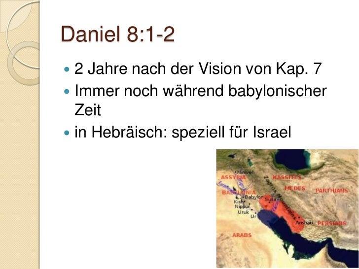 Daniel 8:27 Hinterliess tiefen Eindruck Ging wieder den alltäglichen  Geschäften treu nach    ◦ 2. Petrus 3:11-18       ...