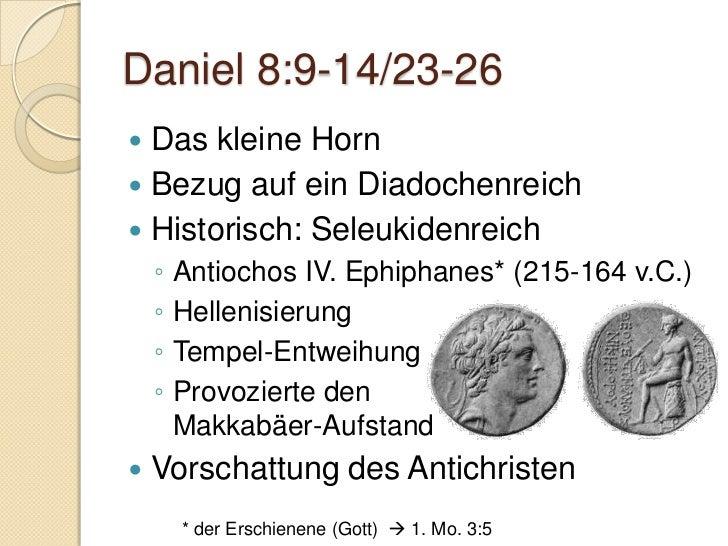 Daniel 9Daniels Bussgebet und die Vision der 70Jahrwochen       Alle Bilder waren zum Zeitpunkt der Erstellung des Foliens...
