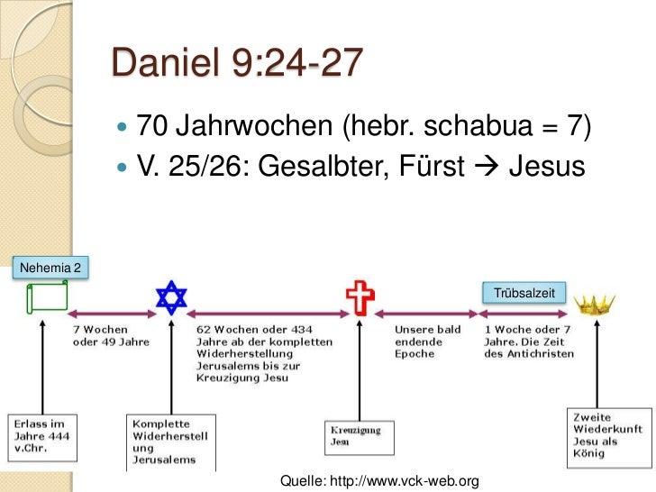 Daniel 10Daniels Zubereitung zu weiteren Offenbarungen       Alle Bilder waren zum Zeitpunkt der Erstellung des Foliensatz...
