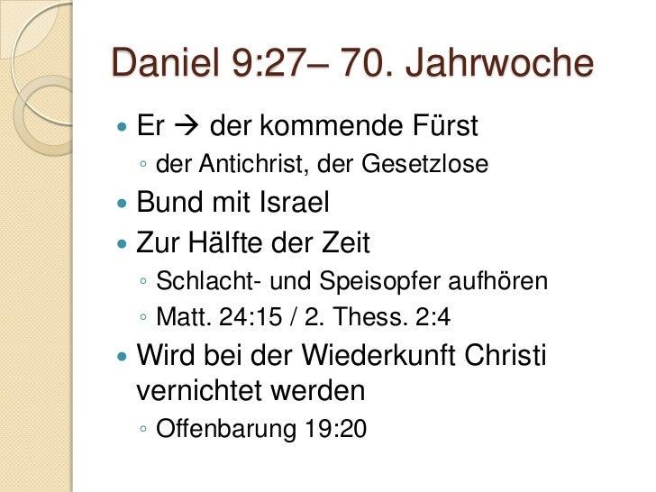 Daniel 10:1-3   Daniel blieb in Babylon    ◦ Siehe Rückkehr einer relativ kleinen      Gruppe in Esra 2   Trauerte und f...
