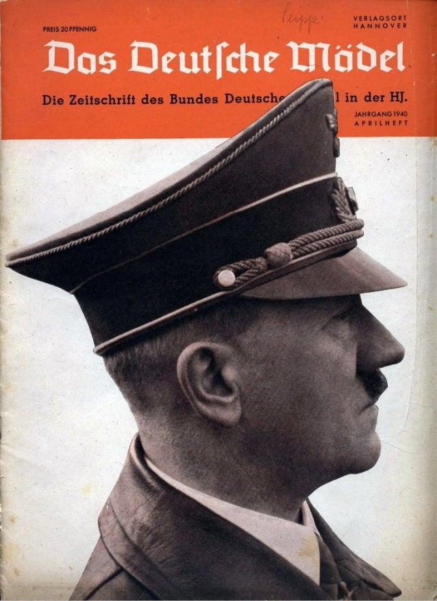 Das Deutsche Maedel-1940 april