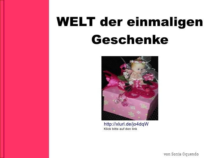 50 einzigartige Geschenkideen