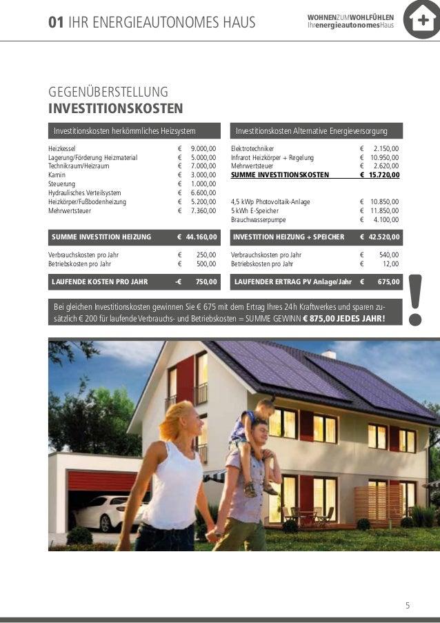 Das energieautonome haus