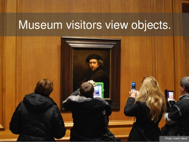 Museum visitors view objects. Photo: Karen Neoh