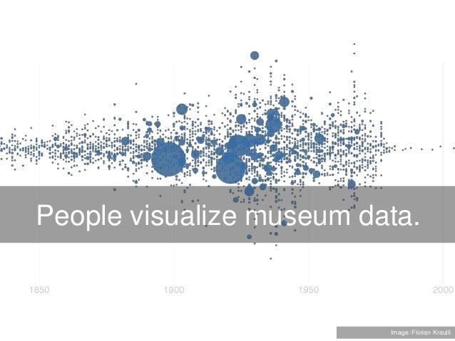 People visualize museum data. Image: Florian Krautli