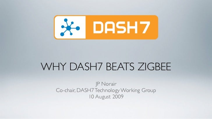DASH7 vs. ZigBee - Comparison of two wireless data protocols