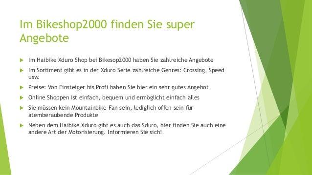 Im Bikeshop2000 finden Sie super Angebote  Im Haibike Xduro Shop bei Bikesop2000 haben Sie zahlreiche Angebote  Im Sorti...