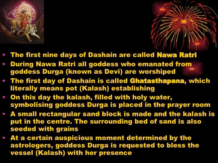 Essay of dashain festival