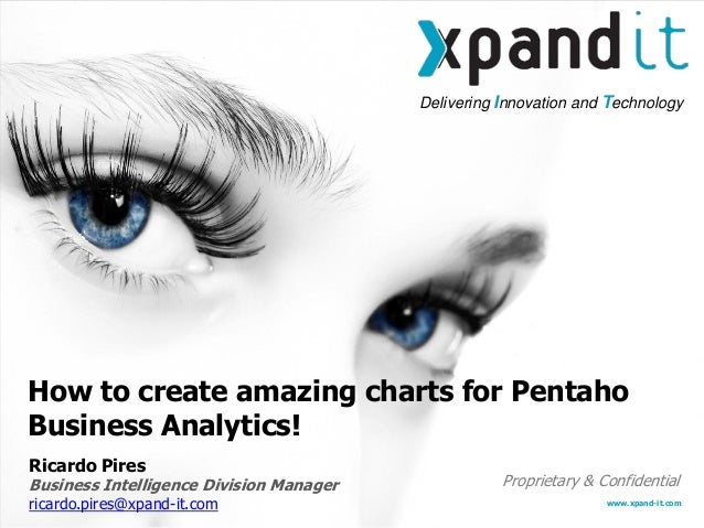 Delivering Innovation and Technology www.xpand-it.com Proprietary & Confidential How to create amazing charts for Pentaho ...