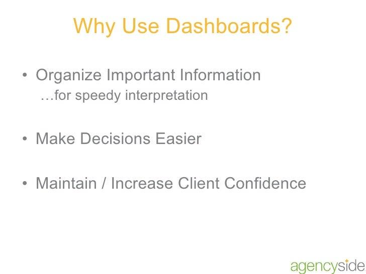 Marketing Dashboards Slide 3