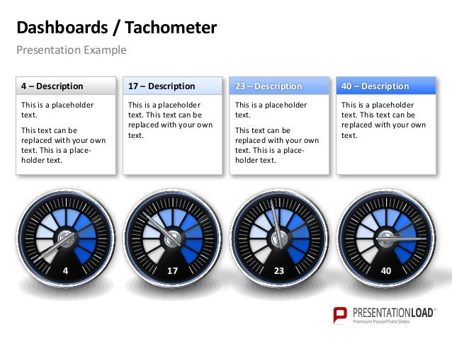 Powerpoint dashboards tachometer template dashboards tachometer powerpoint template toneelgroepblik Images