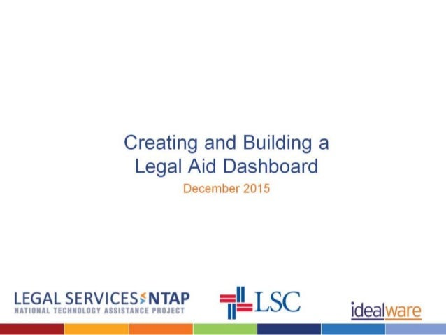 Dashboards for Legal Aid