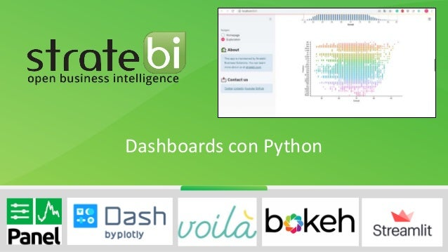 Dashboards con Python