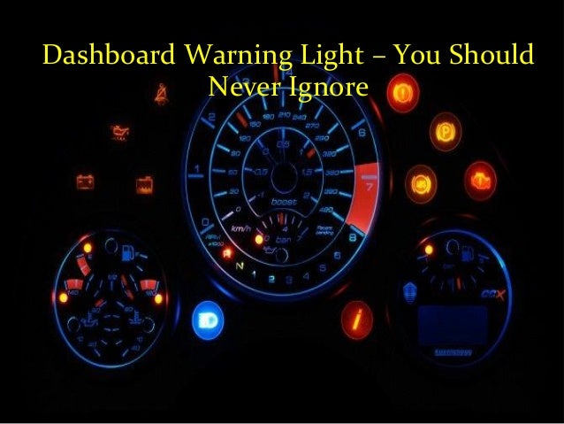 Warning Light You Should Never Ignore - Car signs on dashboardcar warning signs you should not ignore