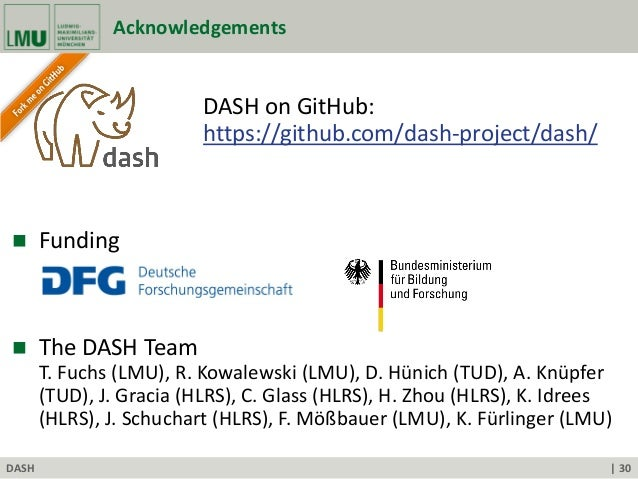 DASH: A C++ PGAS Library for Distributed Data Structures and
