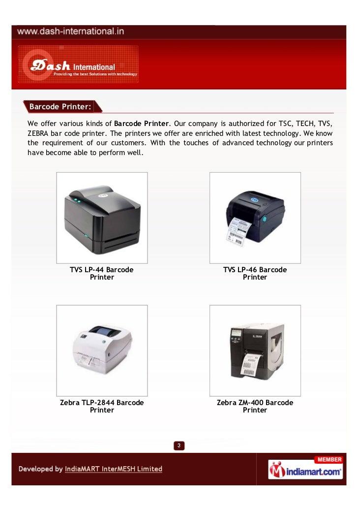 Dash International, New Delhi,  Radio Frequency Identification Devices Slide 3