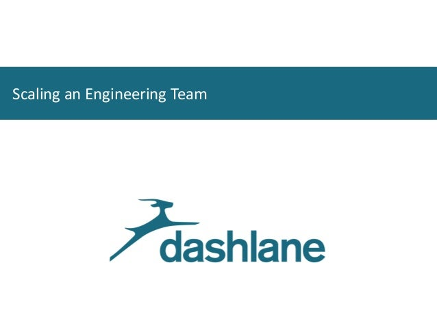 Scaling an Engineering Team