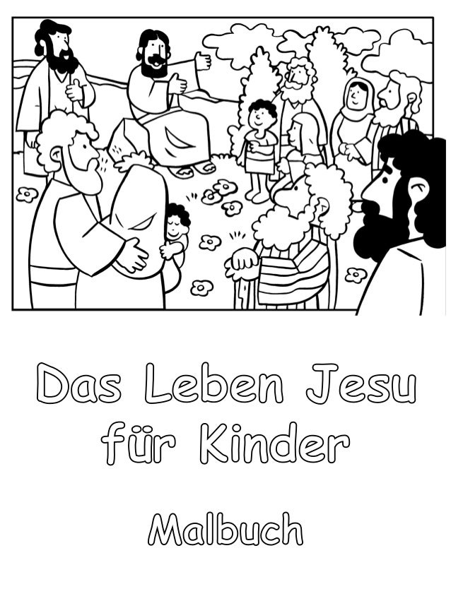 das leben jesu f r kinder malbuch. Black Bedroom Furniture Sets. Home Design Ideas