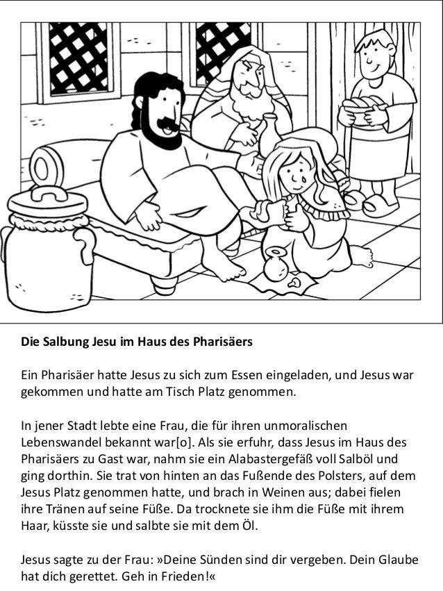 Das leben Jesu für kinder - malbuch