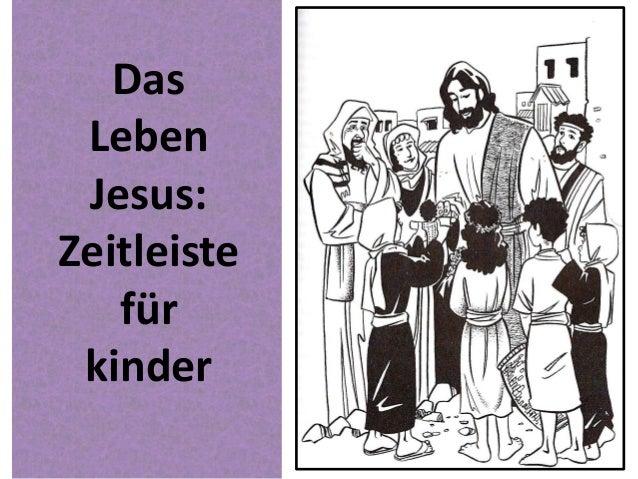 Das Leben Jesus: Zeitleiste für kinder