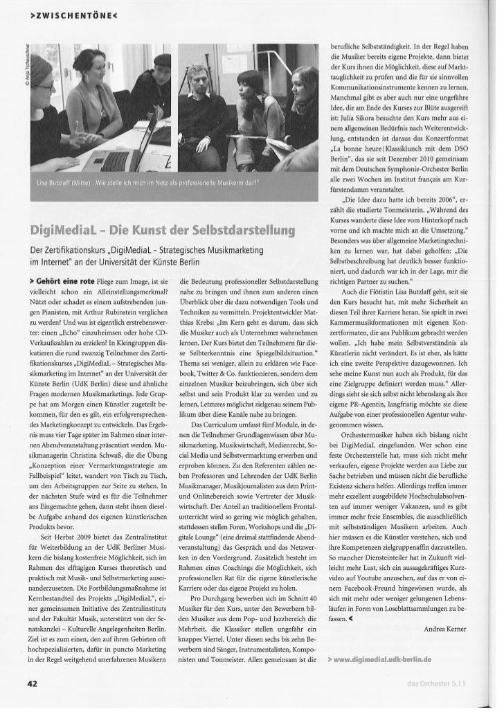 DigiMediaL - Strategisches Musikmarketing im Internet