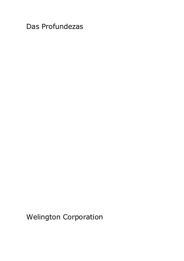 Das ProfundezasWelington Corporation