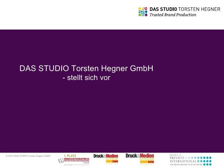DAS STUDIO Torsten Hegner GmbH - stellt sich vor